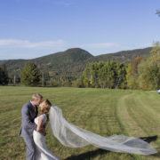 Weddings Couple at Millstone Hill in Barre Vermont